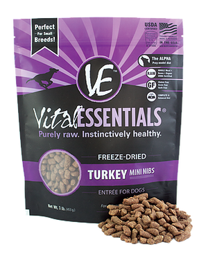Vital Essentials Freeze-Dried Turkey Mini Nibs 1lb