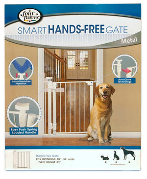 Four Paws Metal Pet Gate