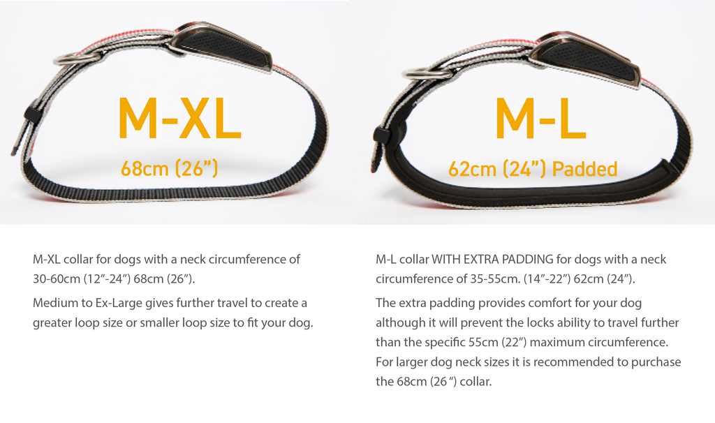 Kooloop Collar Sizing