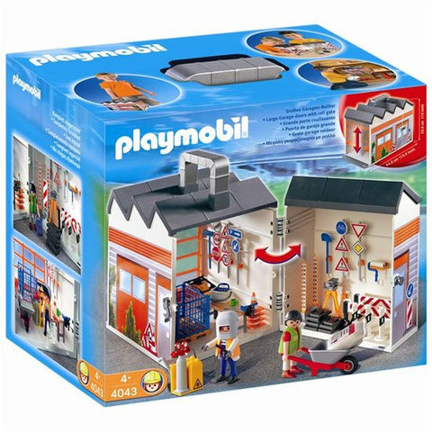 Playmobil - Take-along Construction set - 4043 - Bunyip Toys - 1