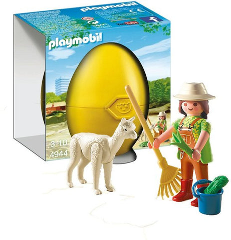 Playmobil - Animal Carer Easter Egg - 4944 - Bunyip Toys - 1