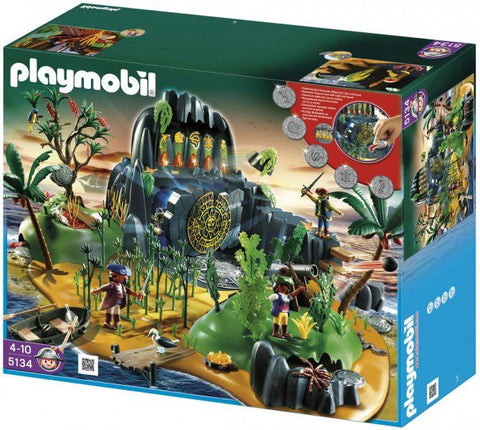 Playmobil - Pirate Treasure Island - 5134 - Bunyip Toys - 1