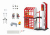 Playmobil - Fire Station with Siren - 5361 - Bunyip Toys - 2