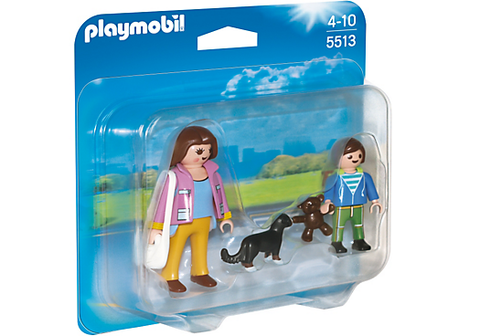 Playmobil - Mother with School Child Duo Pack - 5513 - Bunyip Toys