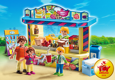 Playmobil - Ice Cream And Snack Stall - 5555 - Bunyip Toys