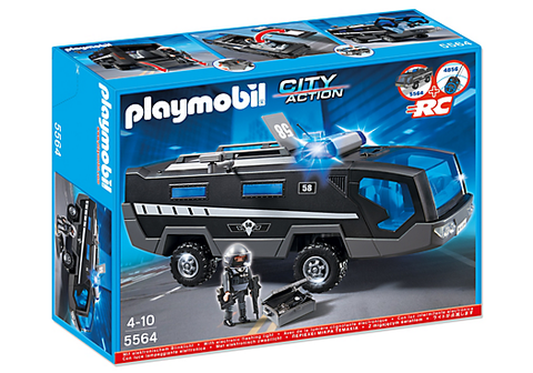 Playmobil - Armoured Police Car - 5564 - Bunyip Toys