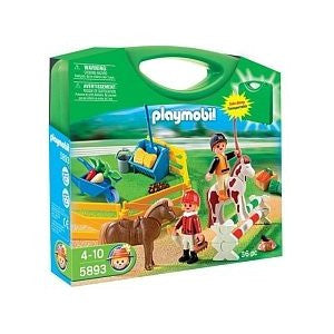 Playmobil - Pony Farm Carrycase - 5893 - Bunyip Toys