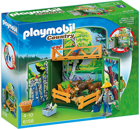 Playmobil - Country Animal Keeper Play Box - 6158 - Bunyip Toys - 1