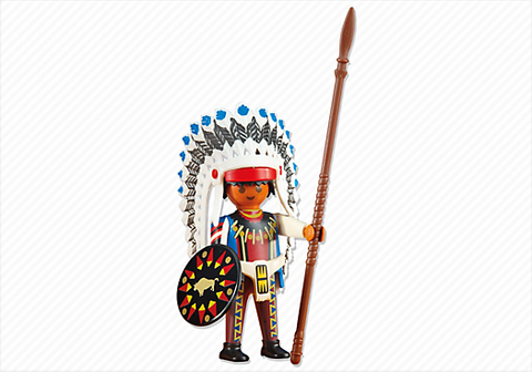 Playmobil - Native American Chief - 6271 - Bunyip Toys