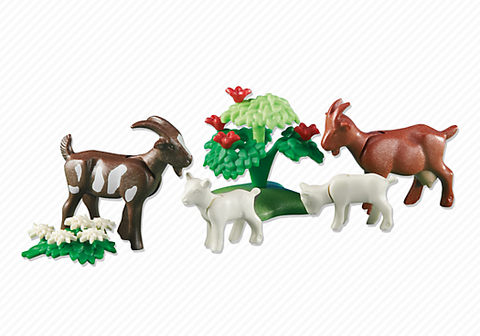 Playmobil - Goats with Kids - 6315 - Bunyip Toys