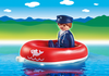 Playmobil - 1-2-3 Sailor in Rubber Boat - 6795 - Bunyip Toys - 2