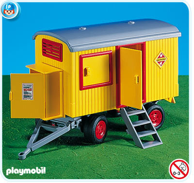 Playmobil - Construction Trailer - 7242 - Bunyip Toys