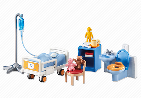 Playmobil - Child's Hospital Room - 6444 - Bunyip Toys