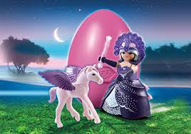 Playmobil - Moonlight Queen with Pegasus Easter Egg - 6837