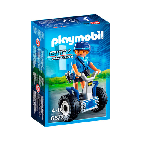 Playmobil - Police Officer on Segway - 6877 - Bunyip Toys - 1