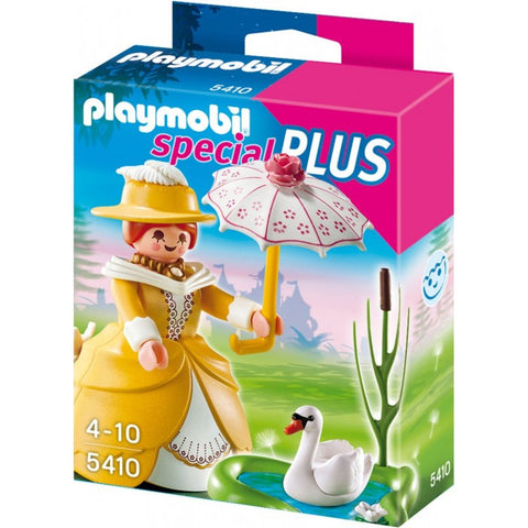 Playmobil - Lady With Swan - 5410 - Bunyip Toys - 1