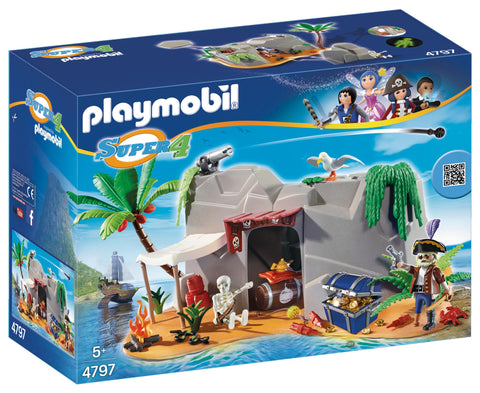 Playmobil - Pirate Cave - 4797 - Bunyip Toys - 1