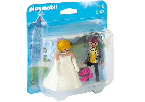 Playmobil - Bride and Groom Duo Pack - 5163 - Bunyip Toys - 1
