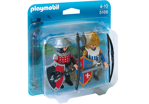 Playmobil - Fighting Knights Duo Pack - 5166 - Bunyip Toys - 1