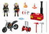 Playmobil - Fire Crew with Water Pump - 5365 - Bunyip Toys - 2