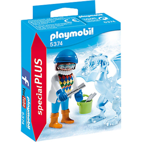 Playmobil - 5374 - Ice Sculptor with Dragon