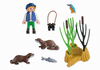 Playmobil - Girl with Otters - 5376 - Bunyip Toys - 2