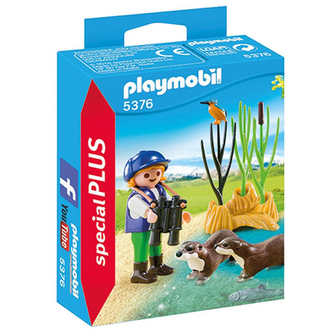 Playmobil - Girl with Otters - 5376 - Bunyip Toys - 1