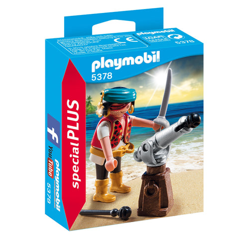 Playmobil - Pirate with Cannon - 5378 - Bunyip Toys - 1