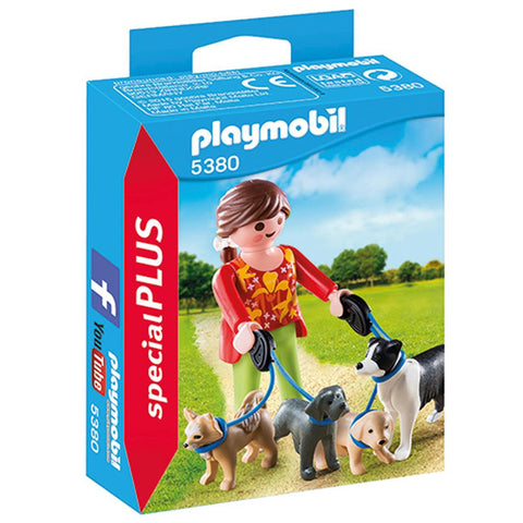 Playmobil - Dog Walker - 5380 - Bunyip Toys - 1