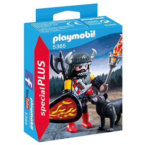 Playmobil - Barbarian and Dog - 5385 - Bunyip Toys - 1
