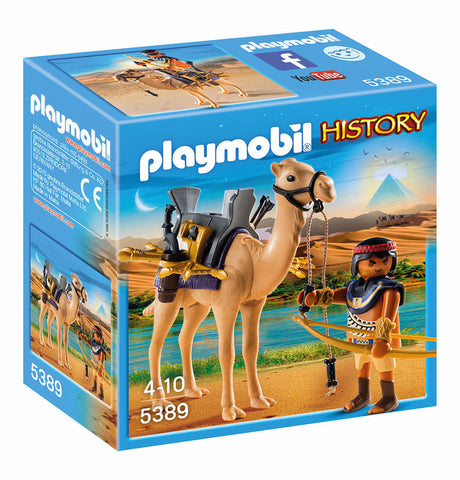 Playmobil - Egyptian Camel Soldier - 5389 - Bunyip Toys - 1