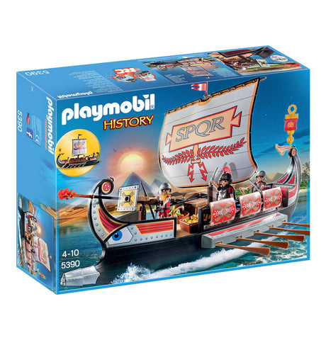 Playmobil - Roman War Galley - 5390 - Bunyip Toys - 1