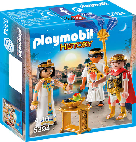 Playmobil - Caesar and Cleopatra - 5394 - Bunyip Toys - 1