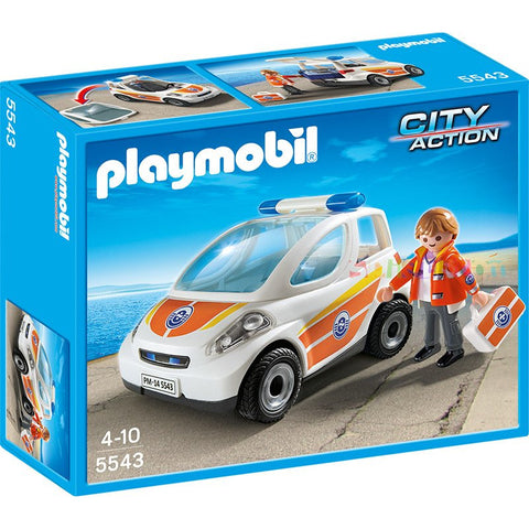 Playmobil - Emergency Doctor's Car - 5543 - Bunyip Toys - 1