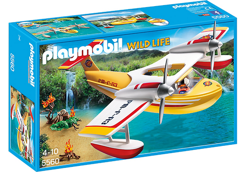 Playmobil - Amphibious Firefighting Plane - 5560 - Bunyip Toys