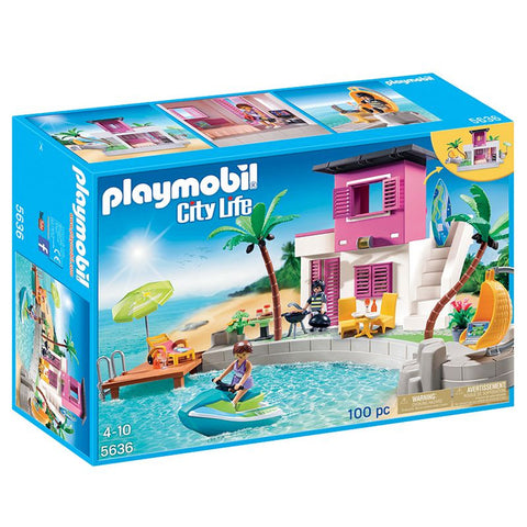Playmobil - Luxury Beach House - 5636 - Bunyip Toys - 1