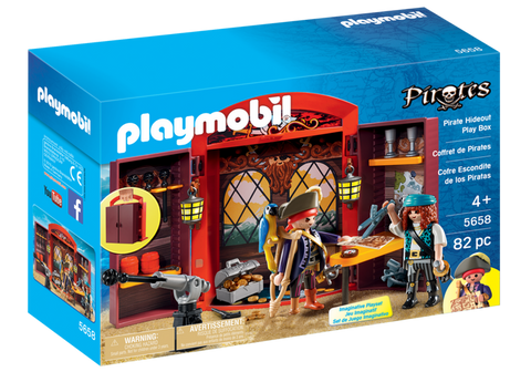 Playmobil - Pirate Captain's Cabin Takealong - 5658 - Bunyip Toys - 1