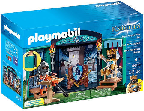 Playmobil - Royal Knights Playbox - 5659 - Bunyip Toys - 1