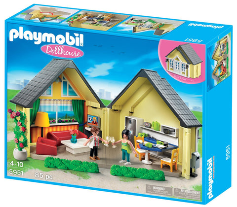 Playmobil - Takealong House - 5951 - Bunyip Toys - 1