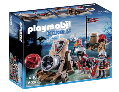 Playmobil - Falcon Knight Cannon- 6038 - Bunyip Toys