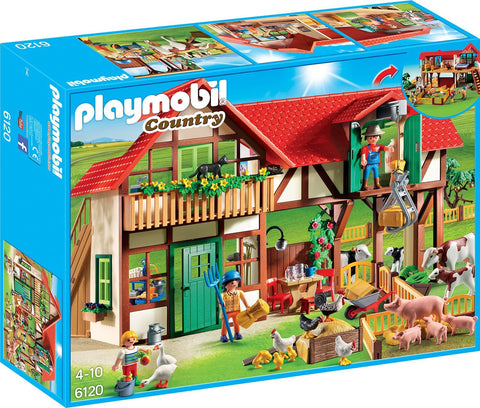Playmobil - Farmhouse - 6120 - Bunyip Toys - 1
