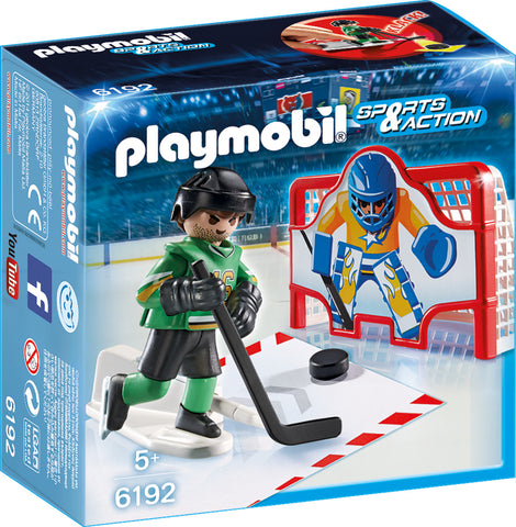 Playmobil - Ice Hockey Shootout - 6192 - Bunyip Toys - 1