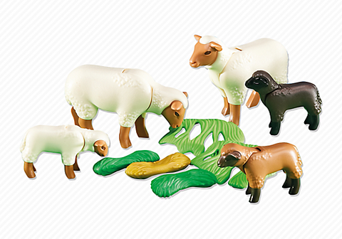 Playmobil - Sheep and Lambs - 6416 - Bunyip Toys