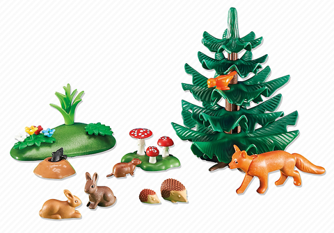 Playmobil - Small Forest Animals - 6418 - Bunyip Toys