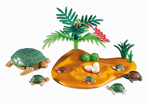 Playmobil - Sea Turtle with Young - 6420 - Bunyip Toys