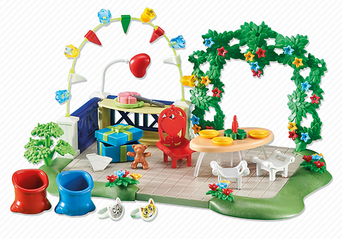 Playmobil - Children's Birthday Party - 6438 - Bunyip Toys