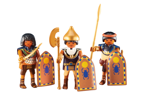 Playmobil - Three Egyptian Soldiers - 6488