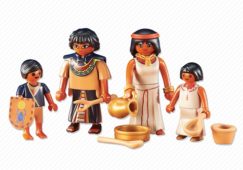 Playmobil - Egyptian Family - 6492 - Bunyip Toys