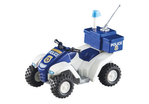 Playmobil - Police Quad Bike - 6504