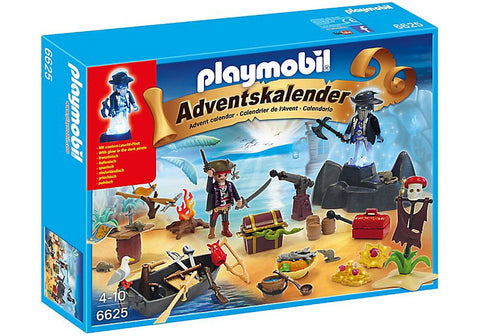 Playmobil - Pirates Advent Calendar - 6625 - Bunyip Toys - 1